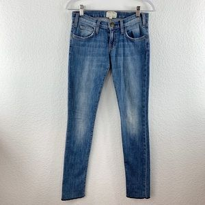 Current Elliot Rolled Ankle Anchor Skinny Jeans